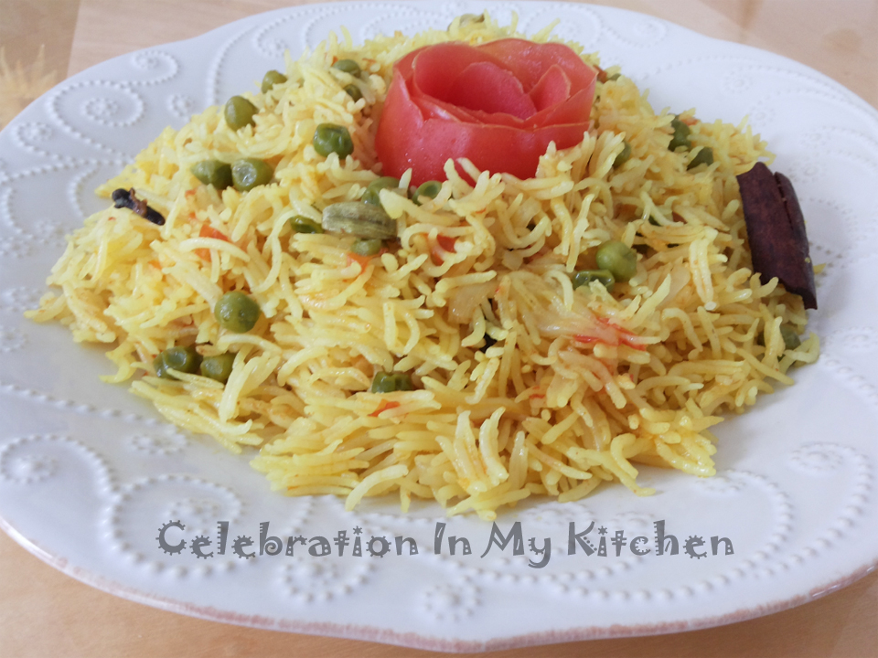 Celebration in my kitchen quick pea pulao in pressure cooker quick pea pulao in pressure cooker forumfinder Gallery