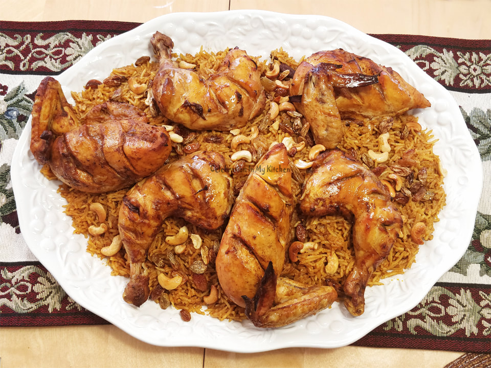 Chicken Kabsa Celebration In My Kitchen Goan Food Recipes Goan Recipes