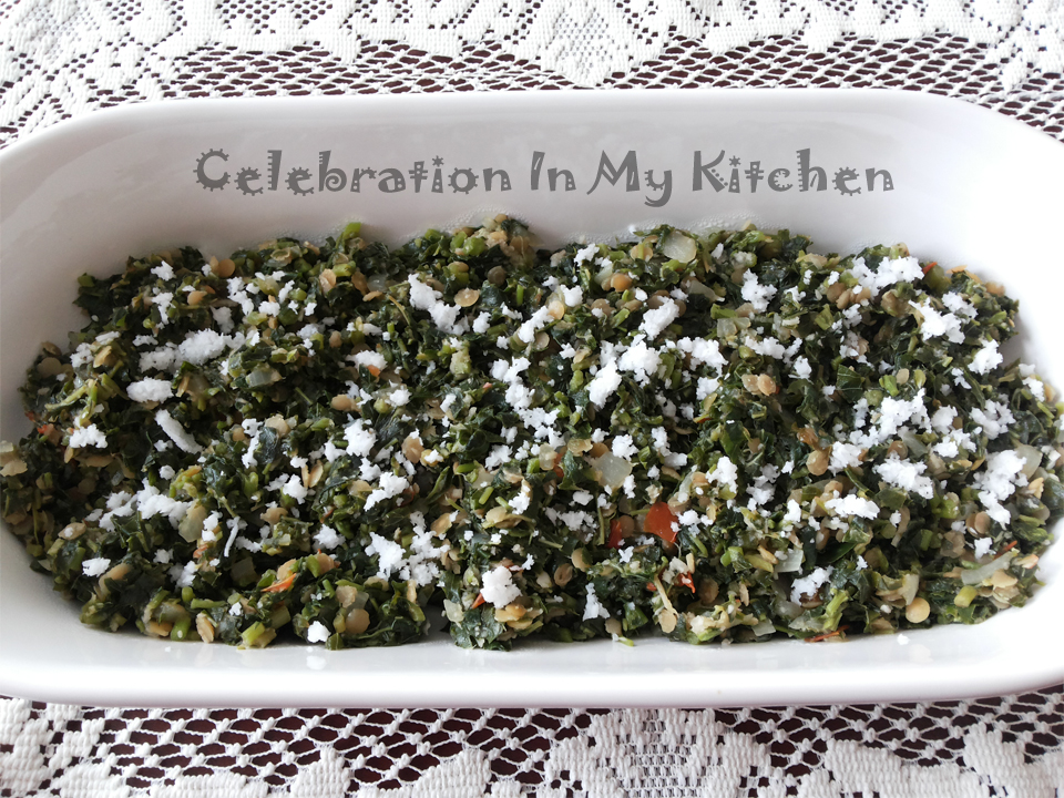 Amaranth Greens Celebration In My Kitchen