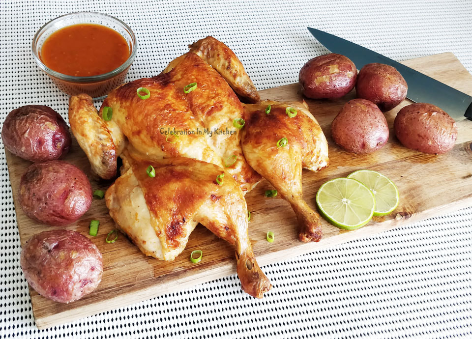 Roasted Butterflied Piri-Piri Chicken