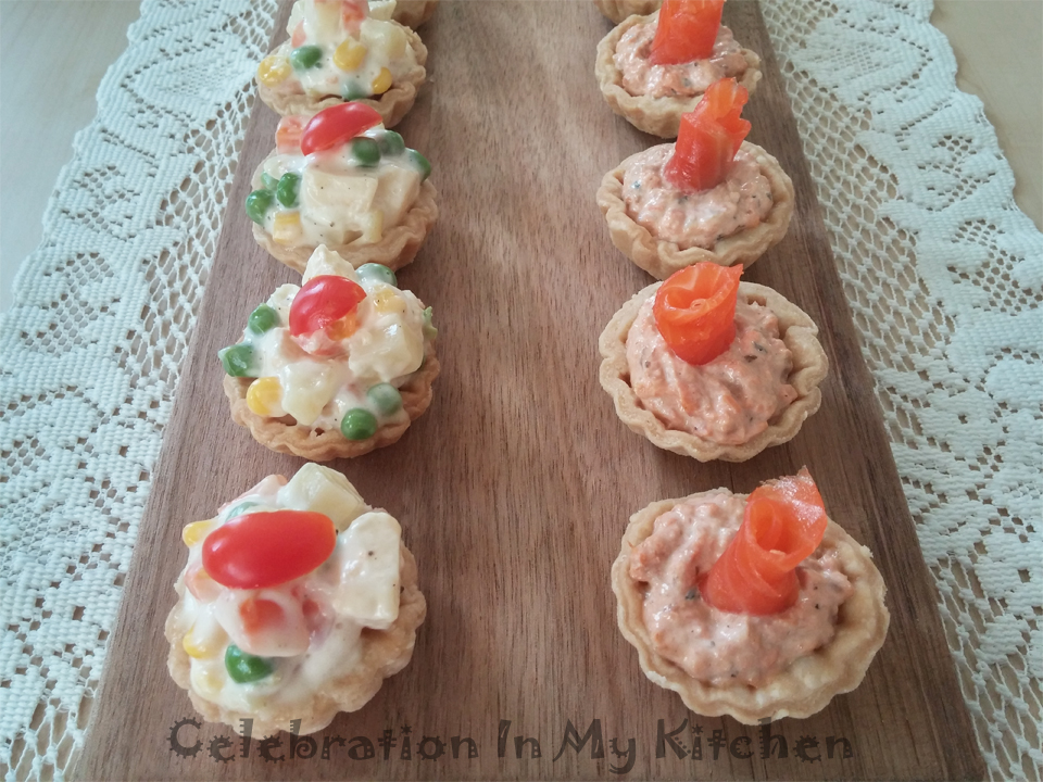 Celebration in my kitchen goan food recipes goan for Canape cup fillings