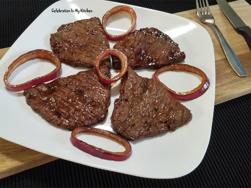 Frilly Beef Steaks