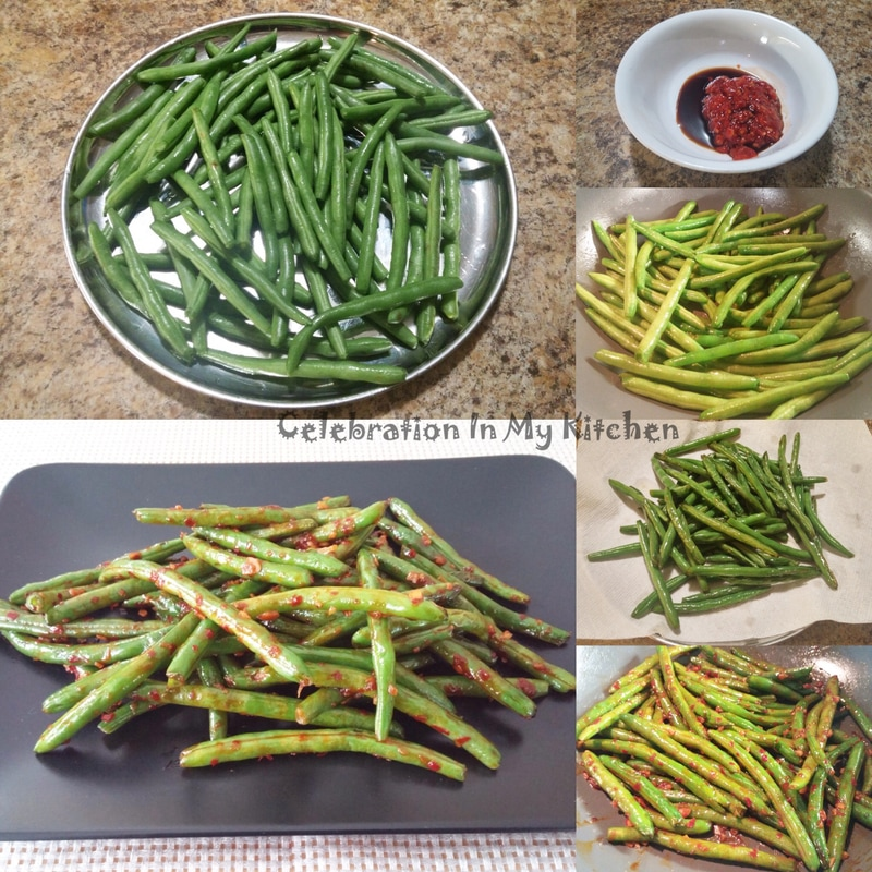 Kan Shue Green Beans (Indo-Chinese)
