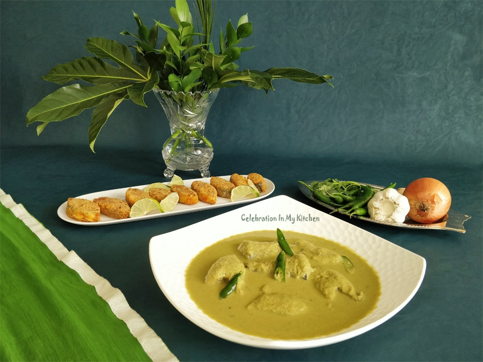 Goan Green Fish Curry