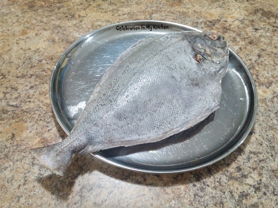 Pan-Fried Black Pomfret (Halwa)